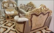 Kursi Sofa Mewah Royal Gold