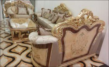 Kursi Sofa Mewah Royal Gold